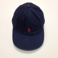 Vintage Polo Ralph Lauren Kids 4-7 Navy blue color