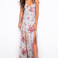 Yours Truly Maxi Dress - Blush