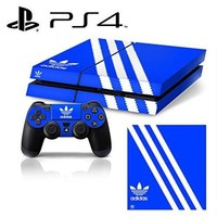 DCCKLO8 Ci-Yu-Online VINYL SKIN [PS4] - ShoeBox #1 Adidas Originals Logo Shoe Box - Whole Body STICKER DECAL COVER for PS4 Playstation 4 System Console and Controllers