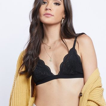 Lace Triangle Bralette (+ Colors)