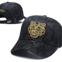 KENZO Women Men Embroidery Sports Sun Hat Baseball Cap Hat