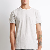 Micro-Stripe Pocket Tee