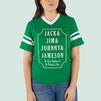 Jack, Jim, Johnny & Jameson Varsity Tee