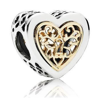 Authentic Pandora Jewelry - Locked Hearts