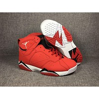 Air Jordan 7 Retro AJ7 Red Sneaker Shoes US8-13