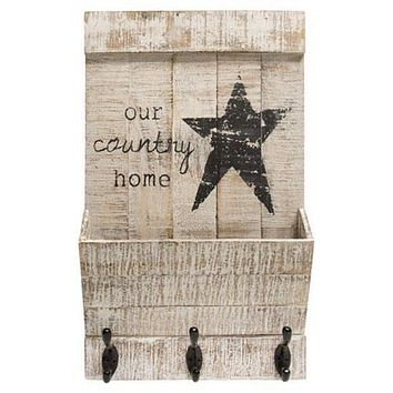 Our Country Home Wall Organizer