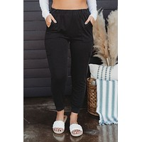 Namaste In Bed Joggers (Black)