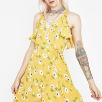 Bed Of Flowers Mini Dress