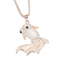 Big Eyed Fish Necklace