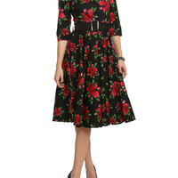 Hell Bunny 50s Eternity Floral Dress