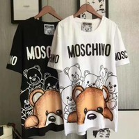 Moschino Women Fashion Tunic Shirt Top Blouse-3