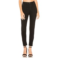 Free People Long And Lean Jegging Black
