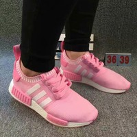 ADIDAS Women Running Sport Casual Shoes NMD Sneakers pink [11913459155]