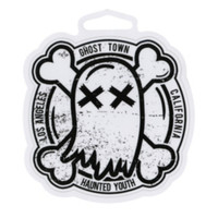 Ghost Town Haunted Youth Sticker