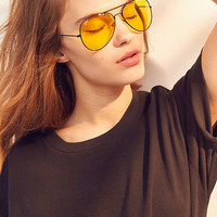 Vintage Aviator Sunglasses | Urban Outfitters