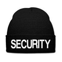 security snapback security hat knit hat beanie snapback secure hat cap beanie wi