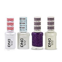 DND - #500#600 Base, Top, Gel & Lacquer Combo - Lush Lilac Star - #405
