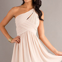 One Shoulder Short Dress