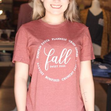{H. Clay} FALL Description Tee