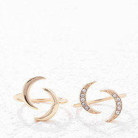 Crescent Open-End Ring Set