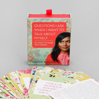 Questions I Ask When I Want To Talk Conversation Starter Game - Urban Outfitters