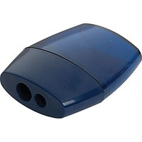Staples® Dual Dome Pencil Sharpener, Each