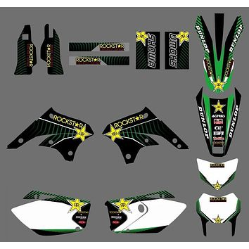 GRAPHICS & BACKGROUNDS DECALS  Kits For Kawasaki KLX450 08 09 10 11 12