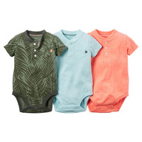 3-Pack Short-Sleeve Bodysuits