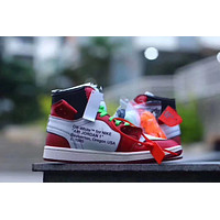 NIKE AIR JORDAN 1 x OFF-WHITE VIRGIL ABLOH CHICAGO