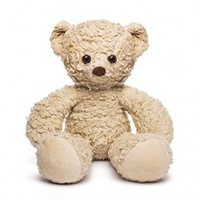 Sherpa Organic Teddy Bear Cream 16 Inches