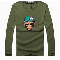 Top quality long sleeve casual breaking bad print T shirt for men fashion COTTON o neck Heisenberg men t shirt