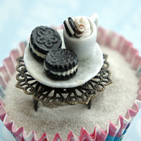 oreos and coffee ring