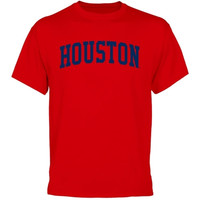 Houston Cougars University Arch T-Shirt - Scarlet