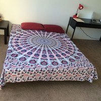 HOUSEWARMING GIFT VALENTINE'S day Gift  Mandala  Tapestry Indian Bedding Bedspread