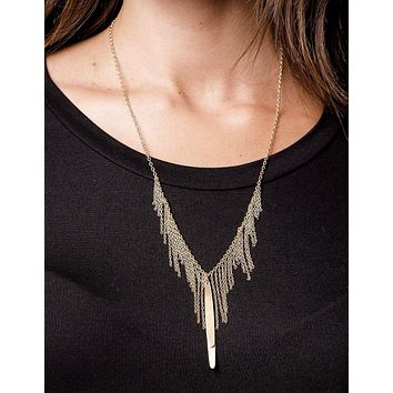 Fair Trade On the Fringe Necklace