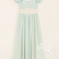 [Free Shipping to USA] Chiffon Maxi Dress - JA1905