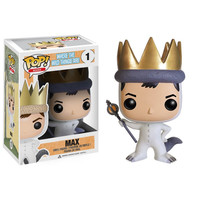 Funko POP! Books - Where the Wild Things Are - Vinyl Figure - MAX (4 inch)(Pre-order Ships April): BBToyStore.com - Toys, Plush, Trading Cards, Action Figures & Games online retail store shop sale