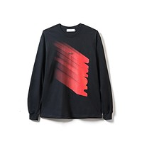 Descent Long Sleeve in Black