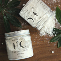 COCONUT MILK . Vegan Bath Soak. Coconut Milk Bath for All Skin Types. Spa & Relaxation Gift // Coconut Milk