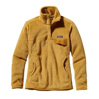 Patagonia Women's Re-Tool Snap-T® Fleece Pullover | Nectar Yellow - Prairie Gold X-Dye