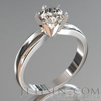 Solitaire Engagement Rings - Enagement Ring Styles - Diamond Engagement Rings