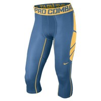 Nike Pro Combat Hypercool Compression 3/4-Length Men's Tights - Military Blue