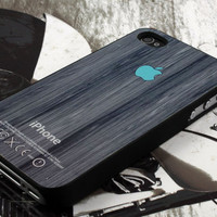 turquoise apple wood design  for iPhone 4 case, iPhone 4s case, iPhone 5 case, samsung galaxy S3 and samsung galaxy S4 case