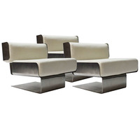 Set of chairs by Gianni Moscatelli for Forma Nova