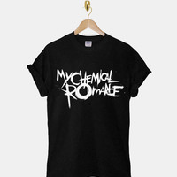 My Chemical Romance DTG ScreenPrint 100% pre-shrunk cotton for t shirt mens and t shirt woman at kahitna
