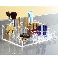 The Container Store > Large Acrylic Makeup Organizer