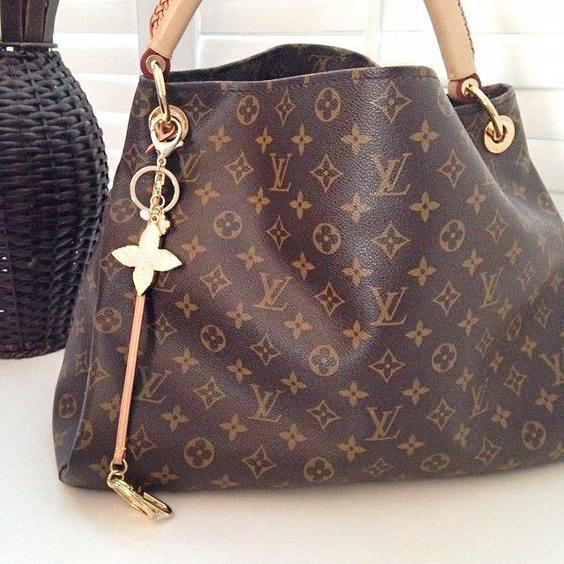 Image of LV Fashion Single Shoulder Bag for Women's Printed Shopping Bags