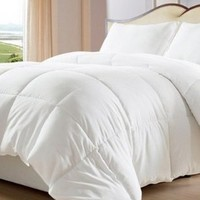 Multiple Sizes - White Down Alternative Comforter/ Duvet Cover Insert-Twin - Exclusively by BlowOut Bedding RN #142035