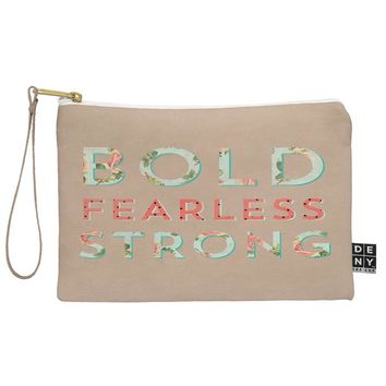 Allyson Johnson Bold Fearless And Strong Pouch