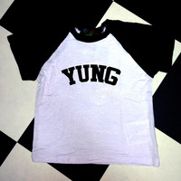SWEET LORD O'MIGHTY! YUNG RAGLAN